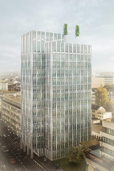 Gewoba hochhaus wettbewerb schaufenster bremen - Architekten bremen ...